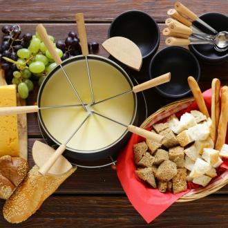 La fondue traditionnelle
