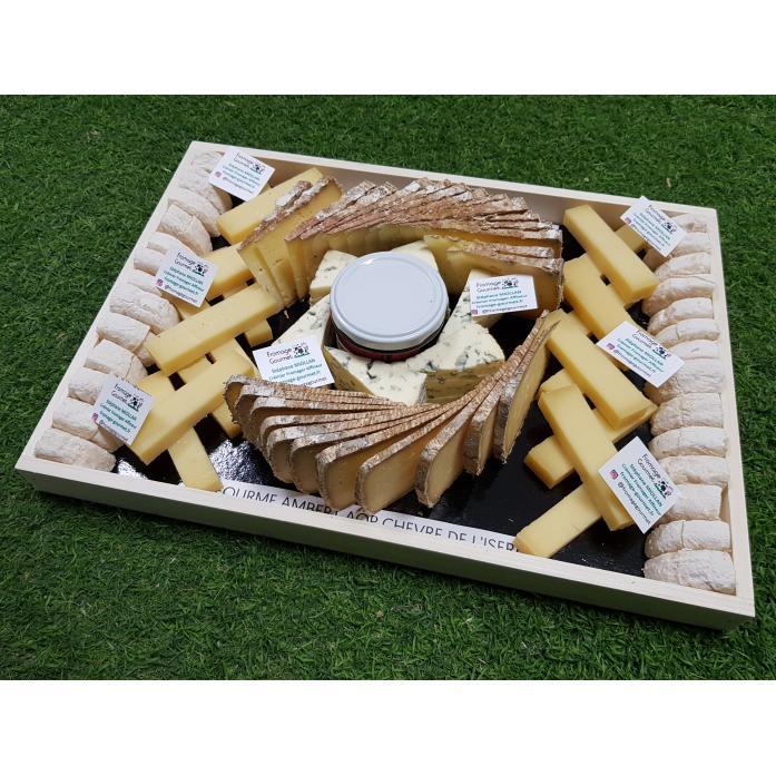 Planche à fromage dînatoire - 10 personnes